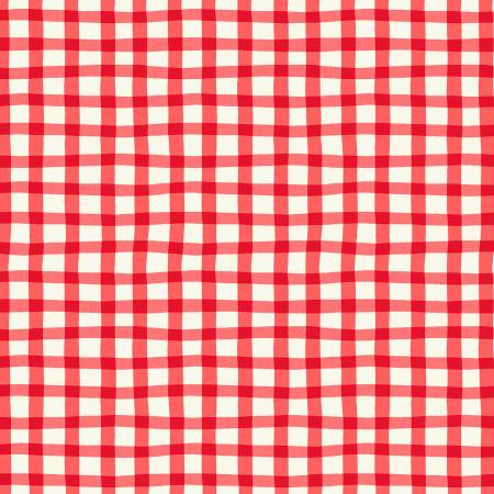 A to Zoo Red Loose Gingham 52214-5