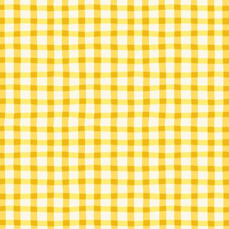 Yellow Loose Gingham