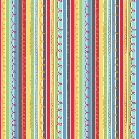 Multi Scribble Stripe