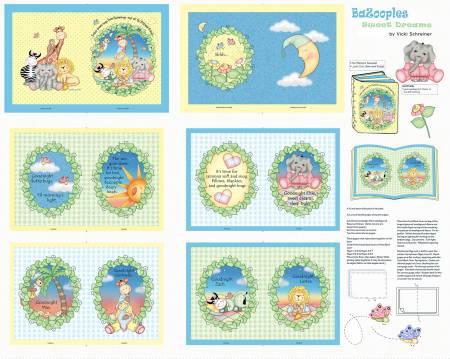 Bazooples Sweet Dreams Soft Book