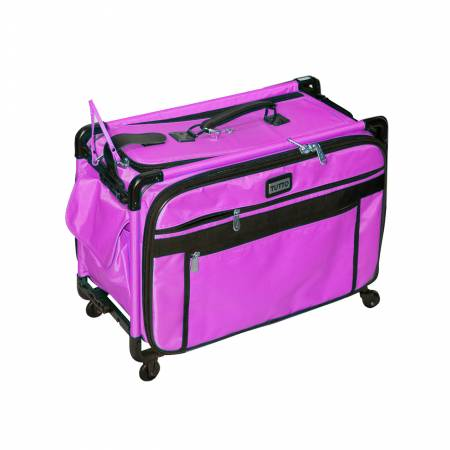 Tutto Sewing Machine Case On Wheels Large 22in Pink