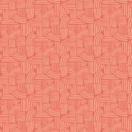 Wildflower Coral Linea 52254-7