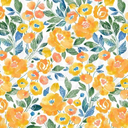 52289-1 White Veranda Veranda Windham Fabrics