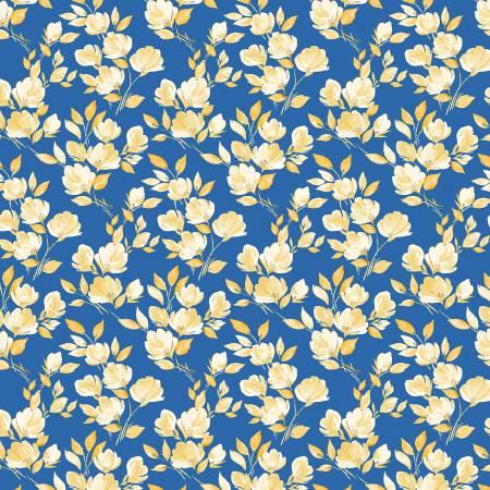52290-5 Royal Mini Floral Veranda Windham Fabrics