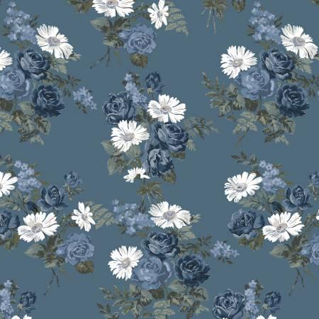 Camilla - Blue Floral Bouquet