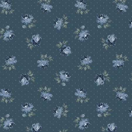 Camilla - Indigo Small Floral