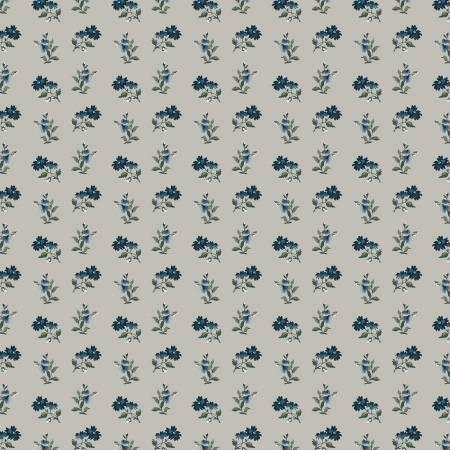 Camilla - Light Grey Wallpaper Floral