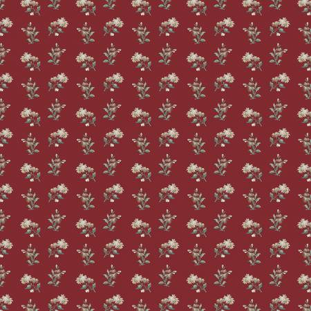 Camilla - Red Wallpaper Floral