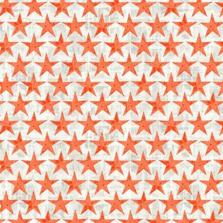 Desert Cowboy 52456D-2 Wood Plank Stars Cream