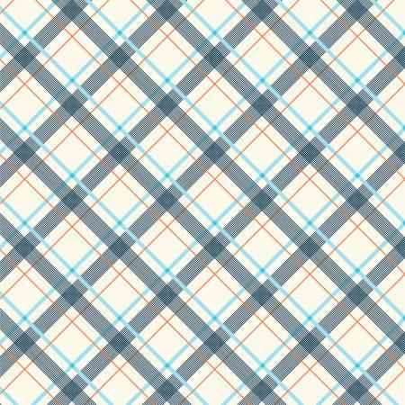 Five+Ten - Light Blue Wafer Plaid