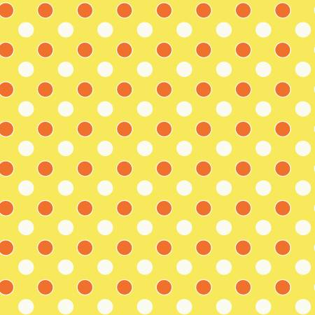 52485 8 Yellow Dots Five + Ten by Desnyse Schmidt for Windham Fabrics. 100% cotton 43 wide