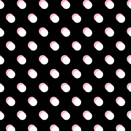 52546-3 Dot Dot Dot / Double Dot - Black