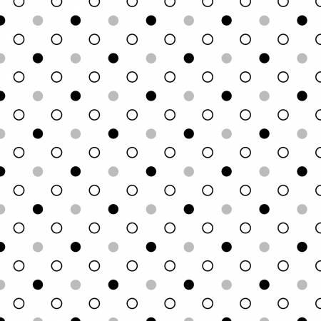 Ivory Mixed Dot