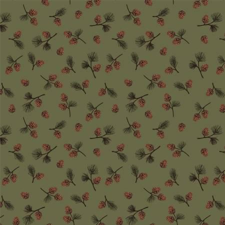 BLACK BEAR LODGE Evergreen Pinecones 52604-2