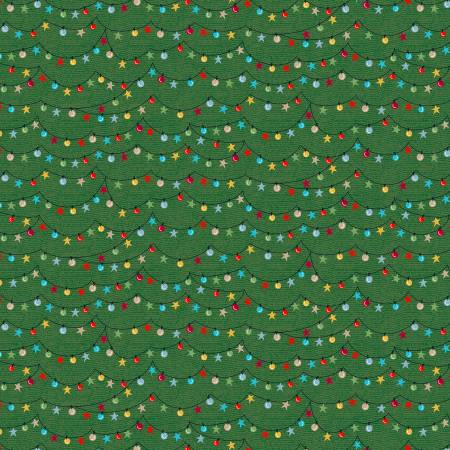 Light the Towne (Winter Towne) by Windham Fabrics (52631-5)