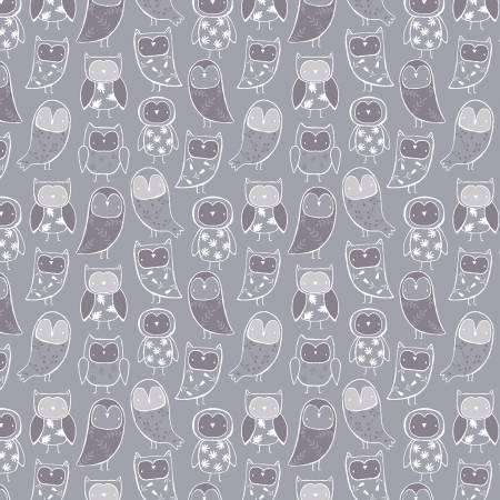 52705-5 Grey Night Night Flannel (21I)