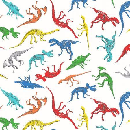 Dinosaur Flannel - 52709-1