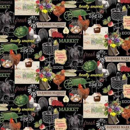 Farmer's Market Black Farm Life