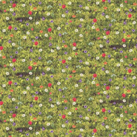 Farmers Market by Whistler Studios Wildflowers Grass