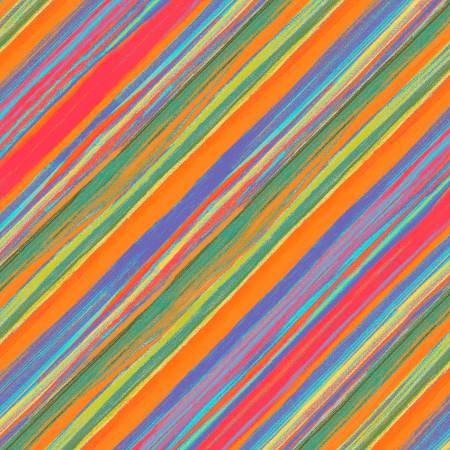 Orange Road Trip Vista Stripe