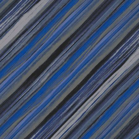 Midnight Guy Blue Vista Stripe