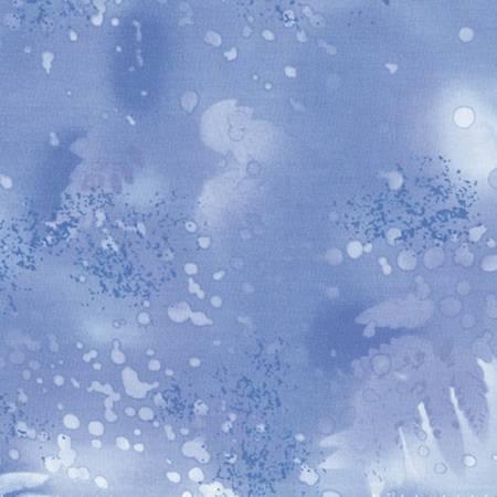 Fabric Benartex Nordic Ice Fossil Fern