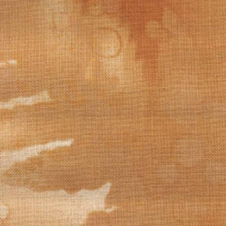 Fabric Benartex Caramel Fossil Fern
