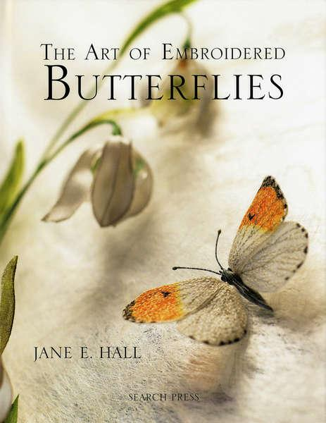 Art of Embroidered Butterflies - Hardcover