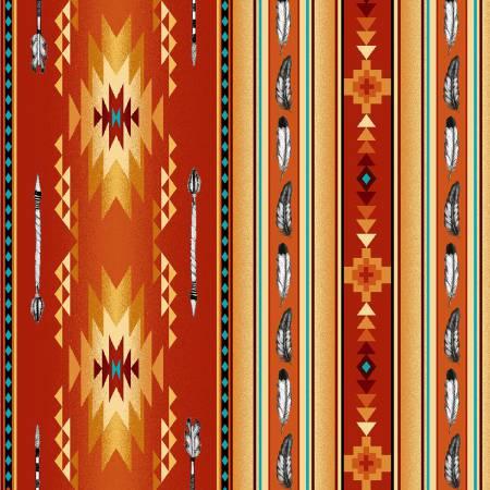 Terracotta Arrows & Feathers