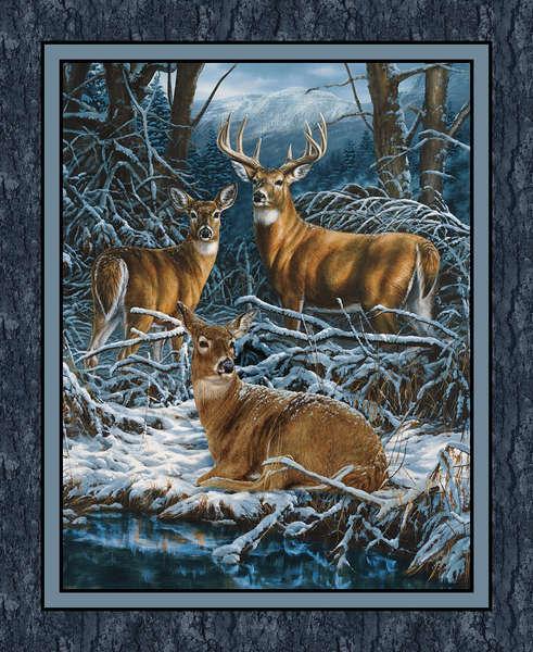 Wild Wings Wintergreen Panel