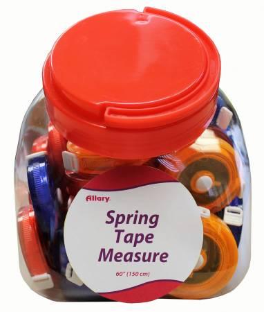 Spring Tape Measures