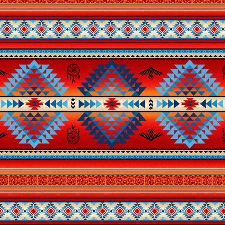 Tucson Terracotta Stripe