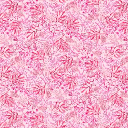 Blooming Ocean - Seaweed Light Pink