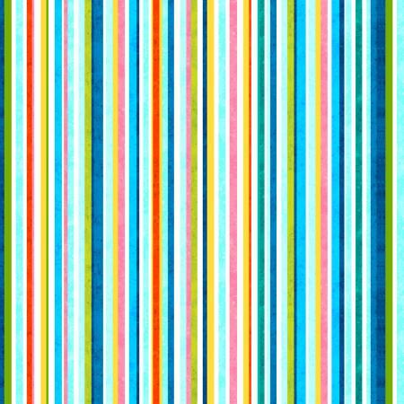 Blooming Ocean - Multi Stripe Digital