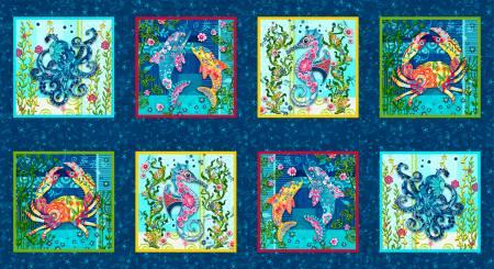 Blooming Ocean Panel