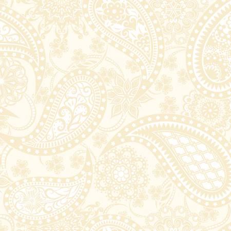 Contempo Paisley Cream Jubilee