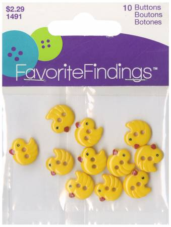 Favorite Findings Chirp Buttons