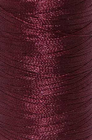 Iris Polyester Machine Embroidery Thread 5500yd Burgundy
