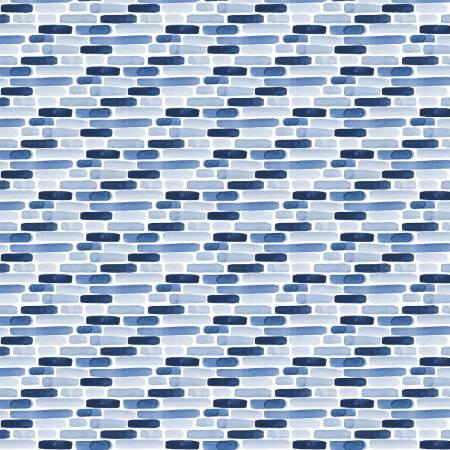 Classic Blue Trust the Process Digital White 55200103-1