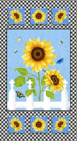 Studio e Multi Sunflower Panel 24in x 44in 5579P-74