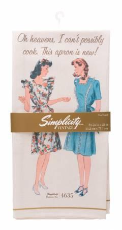 Vintage Tea Towel 4635