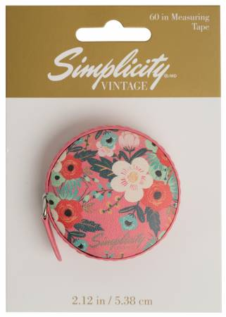 Vintage Measuring Tape Floral