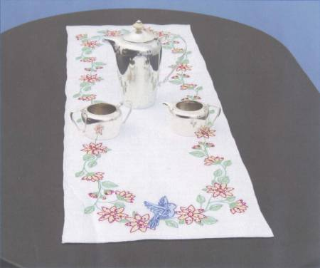 Birds Table Runner / Scarf