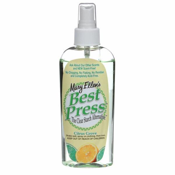 Best Press Spray Starch Citrus Grove 6oz