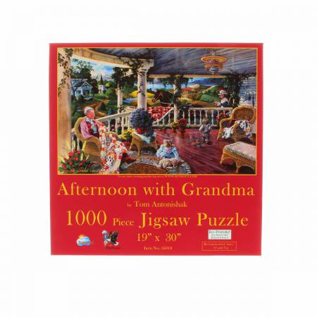 Afternoon with Grandma 1000pc Puzzle