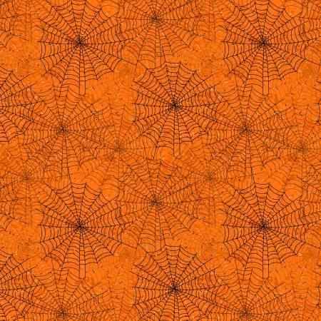Gone Batty - Orange Spider Webs