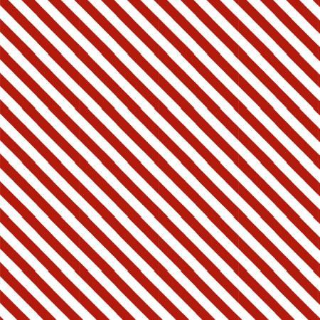 Red Candy Cane Stripe Digital