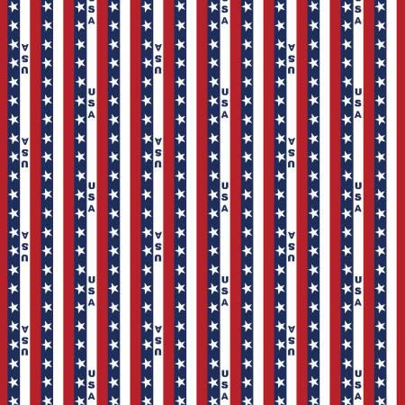Patriotic USA Stripe
