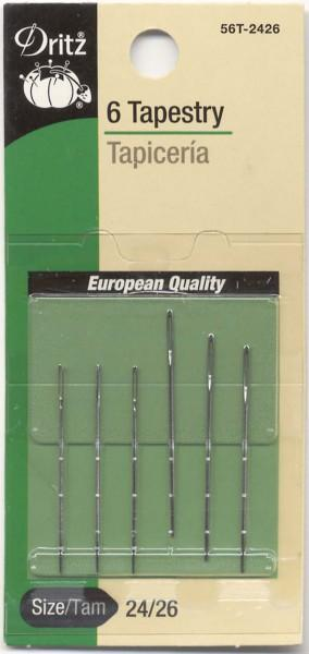 Tapestry Needles Sizes 24/26