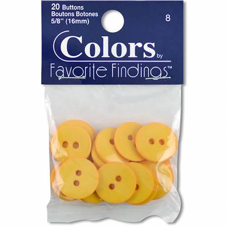 Colors By Favorite Findings Button Bag Yellow